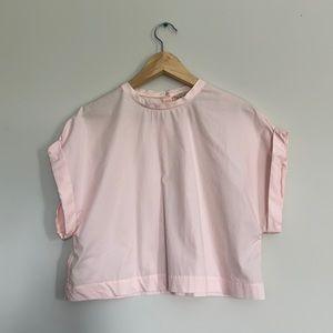 H&M crop top blouse